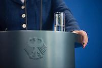 Berlin, 20130508CB024, Bundeskanzlerin Angela Merkel (CDU) am Mittwoch (08.05.13) im Bundeskanzleramt in Berlin bei einer Pressebegegnung mit dem Staatspräsidenten der Republik Niger, Mahamadou Issoufou (nicht im Bild).