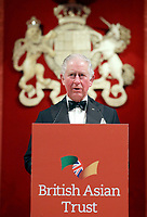 04/02/2020 - Prince Charles Prince of Wales gives a speech during a reception for supporters of the British Asian Trust in London. Photo Credit: ALPR/AdMedia