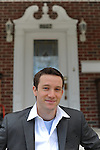 Democratic congressional primary candidate in Maryland's 5th congressional district and American University public policy graduate student Andrew Gall, 27, outside his College Park, Maryland rental on February 28, 2010.  Gall, an ex-Obama for America organizer, faces stiff competition and unlikely odds in his race to unseat the incumbent, number two House Democrat Steny Hoyer, but swears his race is not quixotic.