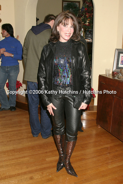 Kate Linder.Annual Christmas Party.Heather Tom's House.Glendale, CA.December 16,  2006.©2006 Kathy Hutchins / Hutchins Photo....