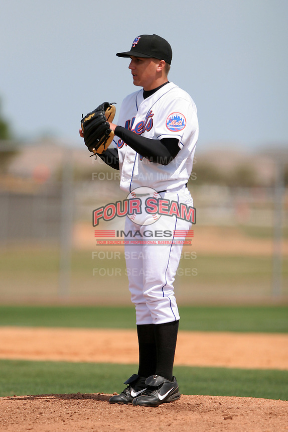 New York Mets minor leaguer Duane Privett during Spring Training at the Carl Barger Training Complex on March 20, 2007 in Melbourne, Florida.  (Mike Janes/Four Seam Images)