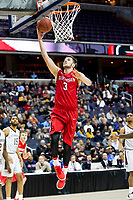 Washington, DC - MAR 10, 2018: Davidson Wildcats guard Jon Axel Gudmundsson (3) gets an easy lay up during semi final match up of the Atlantic 10 men's basketball championship between Davidson and St. Bonaventure at the Capital One Arena in Washington, DC. (Photo by Phil Peters/Media Images International)