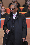 Congressman Bobby Rush enters the stage at the inauguration ceremony of Chicago Mayor Elect Rahm Emanuel and other public officials in Millennium Park in Chicago, Illinois on May 16, 2011.