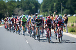 The peloton 6'50&quot; behind during Stage 15 of the 104th edition of the Tour de France 2017, running 189.5km from Laissac-Severac l'Eglise to Le Puy-en-Velay, France. 16th July 2017.<br /> Picture: ASO/Pauline Ballet   Cyclefile<br /> <br /> <br /> All photos usage must carry mandatory copyright credit (&copy; Cyclefile   ASO/Pauline Ballet)