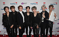 PHILADELPHIA, PA - DECEMBER 05:  I.M, Minhyuk, Jooheon, Kihyun, Wonho, Hyungwon, and Shownu of Monsta X attend Q102's Jingle Ball 2018 at Wells Fargo Center on December 5, 2018 in Philadelphia, Pennsylvania. <br /> CAP/MPI/IS<br /> &copy;IS/MPI/Capital Pictures