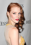 Jessica Chastain attending the Broadway Opening Night After Party for 'The Heiress' at The Edison Ballroom on 11/01/2012 in New York.