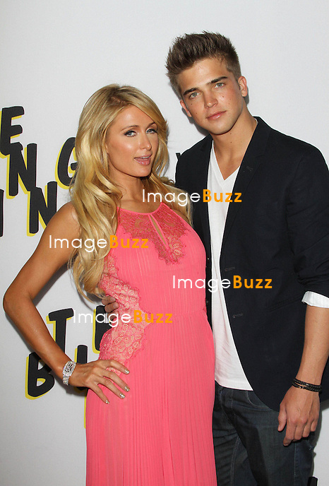 "Paris Hilton and River Viiperi attend the "" The Bling Ring "" Movie Premiere in Los Angeles, June 4, 2013."