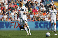 Jay Fulton of Swansea City in action during the Sky Bet Championship match between Swansea City and Rotherham United at the Liberty Stadium, Swansea, Wales, UK. Friday 19 April 2019