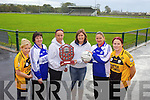 This Saturday the Kerry Garda Ladies will play against Listowel Emmets Ladies Selection in the Carmel O'Connor Memorial Shield. Pictured l-r were: Catherine Galvin, Teresa Stack, Helen McCarthy, Myra Kissane, Raeleen Bell and Marion Keane.
