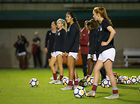 STANFORD, CA - September 27, 2018: Ceci Gee at Stanford Stadium. The Stanford Cardinal defeated the UCLA Bruins, 3-2.