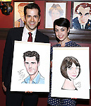 'An American in Paris'  -  Sardi's caricature unveiling