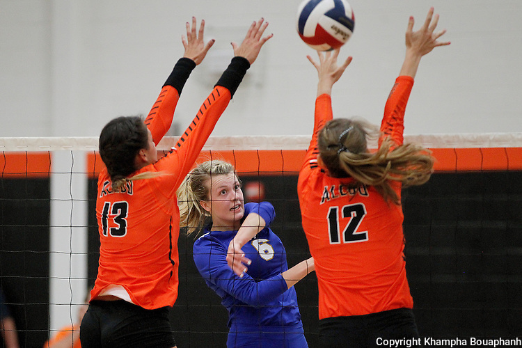 Boswell sweeps Aledo 3-0 in district 6-5A high school volleyball in Aledo on Friday, September 16, 2016.