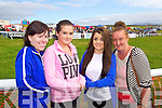 Enjoying Dingle Races on Friday were from left: Sinead Corkery, Sharon Garvey, Emma Noonan, Christine O'Sullivan