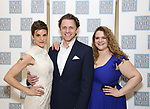 Jen Colella, Jason Danieley and Bonnie Milligan attends the Camelot' Benefit Concert for Lincoln Center After Party at David Geffen Hall on March 4, 2019 in New York City.
