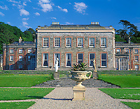 County Cork, Ireland<br /> The North facade of Bantry  House dates from 1765 located in the town of Bantry overlooking Bantry Bay and the Beara Peninsula