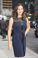 NEW YORK,NY - August 14, 2012: Jennifer Garner at Late Show With David Letterman in New York City. &copy; RW/MediaPunch Inc. /NortePhoto.com<br />