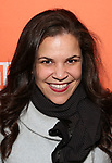 "Lindsay Mendez attends the Second Stage Production of ""Days Of Rage"" at Tony Kiser Theater on October 30, 2018 in New York City."