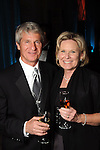"""Jerry and Joanne Ross at the Houston Museum of Natural Science's """"Slither to the Sound: A Prehistoric Party"""" Saturday March 02, 2013.(Dave Rossman/ For the Chronicle)"""
