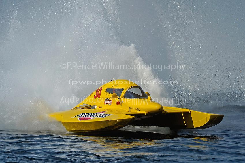 "Brandon Kennedy, E-30 ""Budget Buster"" (5 Litre class hydroplane(s)"
