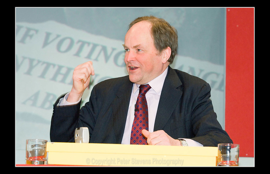 Clive Anderson - Abbott: 'A Promise for Life' - Novotel, Hammersmith, London W6 - 7th February 2007