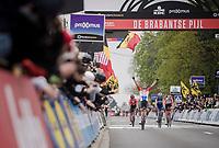 Mathieu Van Der Poel (NED/Correndon-Circus) wins the 59th De Brabantse Pijl - La Flèche Brabançonne 2019 (1.HC)<br /> <br /> One day race from Leuven to Overijse (BEL/196km)<br /> <br /> ©kramon