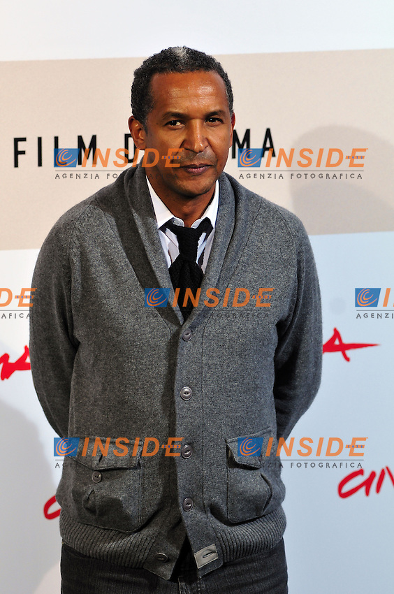 Abderrahmane Sissako<br /> Third edition of the Rome International film festival<br /> Roma 23/10/2008 <br /> Photocall '8'<br /> Photo &copy; Luca Cavallari Insidefoto