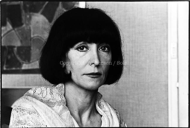 Claire Etcherelli, French writer in june 1978.