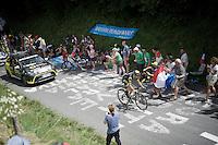 Romain Sicard (FRA/Direct Energie)<br /> <br /> Stage 18 (ITT) - Sallanches › Megève (17km)<br /> 103rd Tour de France 2016