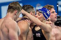 British Swimming GBR<br /> WALKER-HEBBORN Chris, PEATY Adam, O'CONNOR Siobhan Marie, HALSALL Fran<br /> Mixed 4X100 Medley Relay Final Silver Medal<br /> Swimming - Kazan Arena<br /> Day13 05/08/2015<br /> XVI FINA World Championships Aquatics Swimming<br /> Kazan Tatarstan RUS July 24 - Aug. 9 2015 <br /> Photo A.Masini/Deepbluemedia/Insidefoto