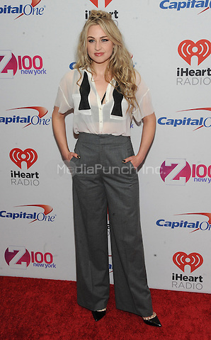 NEW YORK, NY - DECEMBER 11: Bethany Watson attends the Z100's iHeart Radio Jingle Ball 2015 at Madison Square Garden on December 11, 2015 in New York City.  Credit: John Palmer/MediaPunch