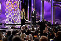 Carol Burnett accepts the Carol Burnett Award for her outstanding contribution to television at the 76th Annual Golden Globe Awards at the Beverly Hilton in Beverly Hills, CA on January 6, 2019.<br /> *Editorial Use Only*<br /> CAP/PLF/HFPA<br /> Image supplied by Capital Pictures