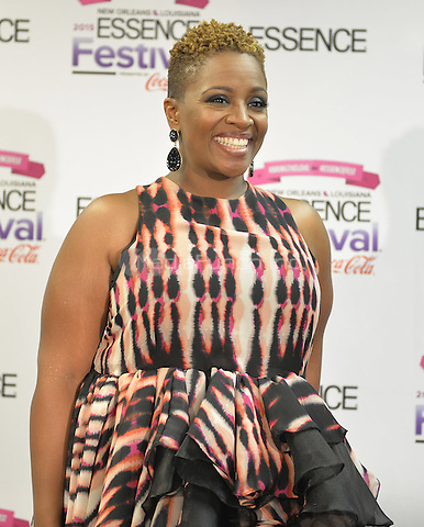 NEW ORLEANS, LA - JULY 3: Avery Sunshine at the 2015 Essence Festival at the Louisiana Superdome on July 3, 2015 in New Orleans, Louisiana. Credit: PGAR/MediaPunch