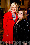 Lisa Fitzgibbon and Siobhan Power, pictured at the Dunnes Stores and Paul Galvin Shelby Autumn Winter Fashion Show, held at the Brandon Hotel, Tralee on Friday night last.