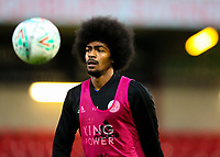 Leicester City U21s' Hamza Choudhury<br /> <br /> Photographer Alex Dodd/CameraSport<br /> <br /> The EFL Checkatrade Trophy - Northern Group B - Fleetwood Town v Leicester City U21 - Tuesday September 11th 2018 - Highbury Stadium - Fleetwood<br />  <br /> World Copyright &copy; 2018 CameraSport. All rights reserved. 43 Linden Ave. Countesthorpe. Leicester. England. LE8 5PG - Tel: +44 (0) 116 277 4147 - admin@camerasport.com - www.camerasport.com