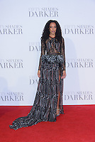www.acepixs.com<br /> <br /> February 9 2017, London<br /> <br /> Corinne Bailey Rae arriving at the UK Premiere of 'Fifty Shades Darker' at the Odeon Leicester Square on February 9, 2017 in London, United Kingdom. <br /> <br /> By Line: Famous/ACE Pictures<br /> <br /> <br /> ACE Pictures Inc<br /> Tel: 6467670430<br /> Email: info@acepixs.com<br /> www.acepixs.com