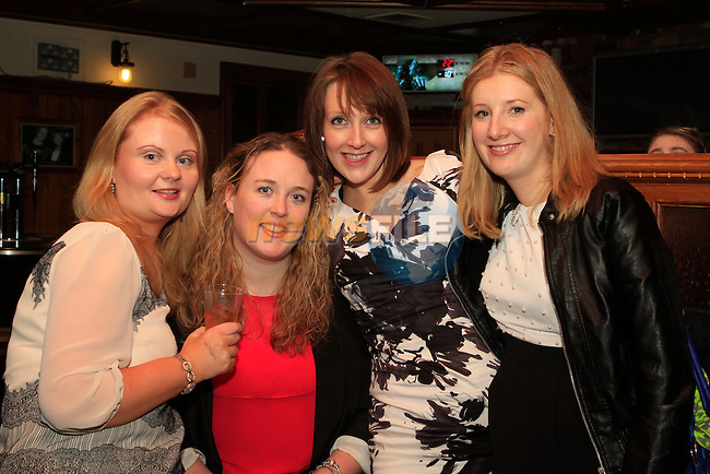 Barbara Dunlea, Erica Cleary, Kate Costello and Sarah O'Brien in McPhails...Photo NEWSFILE/Jenny Matthews..(Photo credit should read Jenny Matthews/NEWSFILE)