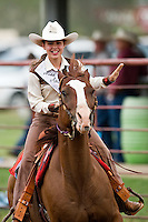 COTULLA, TX - SEPTEMBER 1, 2007: The Cotulla Ranch Rodeo Fiesta held at the Cotulla Rodeo Grounds in Cotulla, Texas. (Photo by Jeff Huehn)