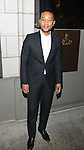 John Legend attend the Manhattan Theatre Club's Broadway debut of August Wilson's 'Jitney' at the Samuel J. Friedman Theatre on January 19, 2017 in New York City.