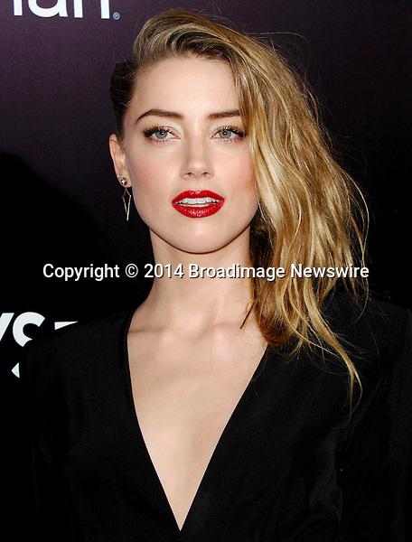 Pictured: Amber Heard<br /> Mandatory Credit &copy; Adhemar Sburlati/Broadimage<br /> Film Premiere of 3 Days to Kill<br /> <br /> 2/12/14, Los Angeles, California, United States of America<br /> <br /> Broadimage Newswire<br /> Los Angeles 1+  (310) 301-1027<br /> New York      1+  (646) 827-9134<br /> sales@broadimage.com<br /> http://www.broadimage.com