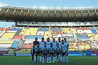 03th November 2019; Kleber Andrade Stadium, Cariacica, Espirito Santo, Brazil; FIFA U-17 World Cup Brazil 2019, Argentina versus Tajikistan; Players of Argentina pose for official photo