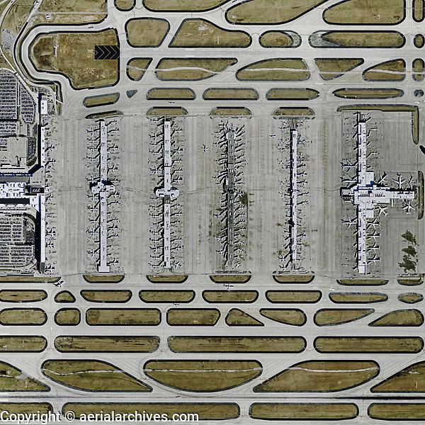 aerial map Hartsfield Atlanta International Airport, Atlanta ...