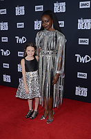 "LOS ANGELES - SEP 23:  Cailey Fleming, Danai Gurira at the ""The Walking Dead"" Season 10 Premiere Event at the TCL Chinese Theater on September 23, 2019 in Los Angeles, CA"