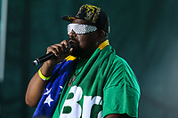 NOVA YORK, EUA, 02.09.2018 - BR DAY-EUA - Afrika Bambaataa durante o BR Day New York 2018 na cidade de Nova York nos Estados Unidos neste domingo, 02. (Foto: Vanessa Carvalho/Brazil Photo Press)