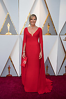 Allison Janney, Oscar&reg; nominee for Best Actress in a Supporting Role, arrives on the red carpet of The 90th Oscars&reg; at the Dolby&reg; Theatre in Hollywood, CA on Sunday, March 4, 2018.<br /> *Editorial Use Only*<br /> CAP/PLF/AMPAS<br /> Supplied by Capital Pictures