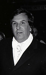Danny Aiello attends a Broadway Opening on December 1, 1980 in New York City.