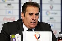 Sandoval (Coach; Córdoba CF) during the Spanish football of La Liga 123, match between CA Osasuna and Cordoba CF at the Sadar stadium, in Pamplona (Navarra), Spain, on Saturday, October 13, 2018.