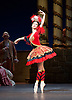 The Flames of Paris <br /> Bolshoi Ballet <br /> at The Royal Opera House, Covent Garden, London, Great Britain <br /> 5th August 2016 <br /> rehearsals<br /> <br /> <br /> Anna Tikhomirova as Mireille de Poitiers an actress <br /> <br /> <br /> <br /> <br /> <br /> Photograph by Elliott Franks <br /> Image licensed to Elliott Franks Photography Services