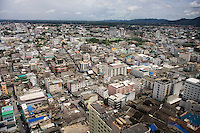 A view of the city of Hat Yai, the economic center in the southern thailand. Photo: Christopher Olssøn