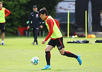 Makoto Hasebe (Eintracht Frankfurt) - 01.05.2018: Eintracht Frankfurt Training, Commerzbank Arena