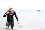 """Harry Flemming at the Clogherhead """"Round the Head Swim""""....(Photo credit should read Jenny Matthews/NEWSFILE)..."""